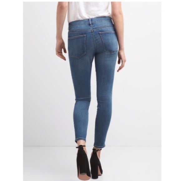 b55ece71b96f6 GAP Jeans   1969 True Skinny Stone Light Indigo   Poshmark